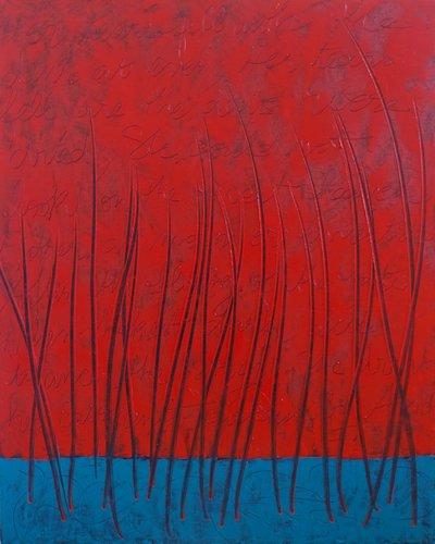 Tennyson 1 Claire Moog Peinture Huile sur Toile