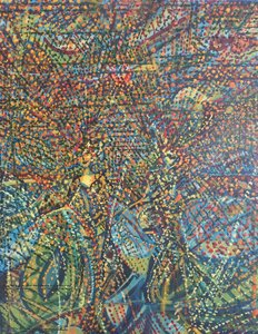TWINS 1999 HST 75X60 Denis Brasil Peinture  sur Toile