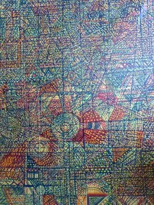 EL PASO Denis Brasil Peinture Huile sur Toile