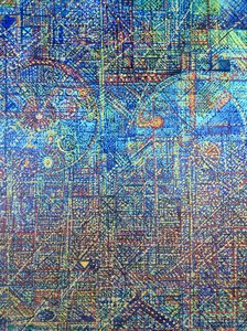 KEOPS Denis Brasil Peinture Huile sur Toile