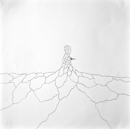 Volcan #2 Isabelle Vicherat Drawing
