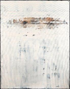 Broken White Nemanja Nikolic Painting Acrylic on Canvas