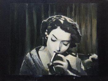 Torch of Freedom #2 Kevin Gray Malerei Acryl auf Leinwand