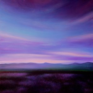Evening Colours - SOLD Kirstin Mccoy Painting Oil on Canvas