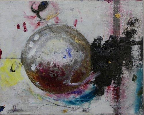 Globe Lumina Wang Malerei  auf Leinwand