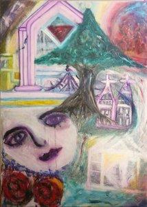 l'Enfant du Souterrain/ Children from Underground Lumina Wang Malerei Öl