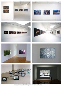 Ausstellungsansichten Fotoarbeiten divers Corinna Rosteck Fotografie