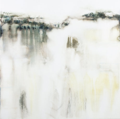 Place Gina Parr Painting Acrylic, Oil on Canvas