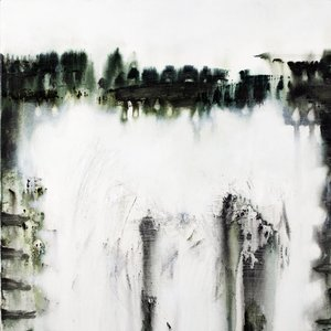 Fading affect bias Gina Parr Painting Acrylic, Oil, Charcoal on Canvas