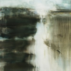 Focality Gina Parr Painting Acrylic, Oil, Charcoal on Canvas