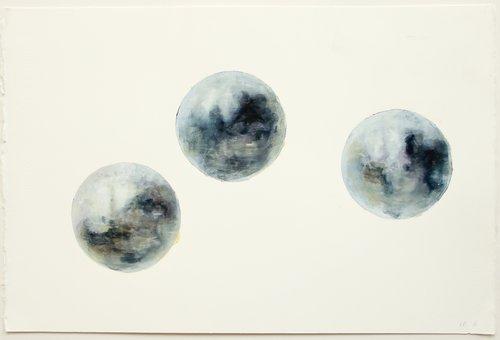 Blue Attic Elaine Brown Peinture Huile