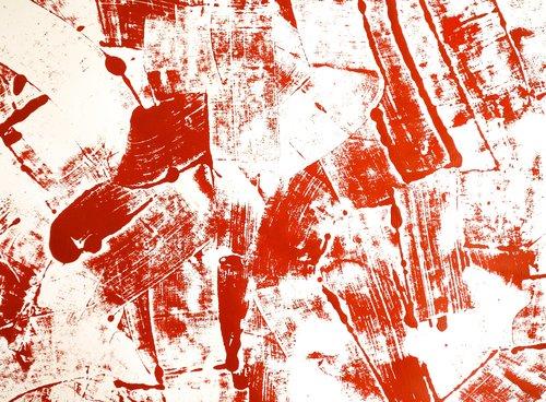 Impressi Francesco D'Adamo Painting Acrylic on Paper