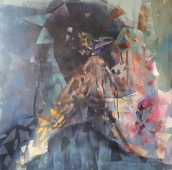 Resting Razvan Stanciu Peinture Acrylique, Huile sur Toile