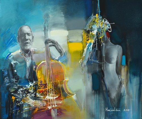 #2 Haroutiun Hakobyan Malerei Öl auf Leinwand