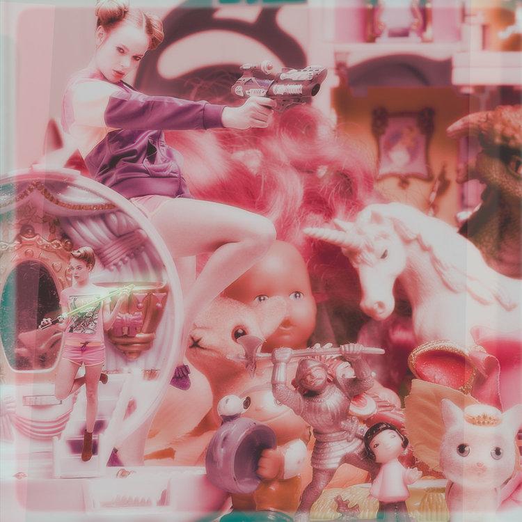 Das Einhorn schaut #1 Frank Bayh & Steff Rosenberger-Ochs Photographie Digital sur Papier
