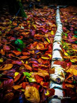 Autumn in the wood Irmin Bernstaedt