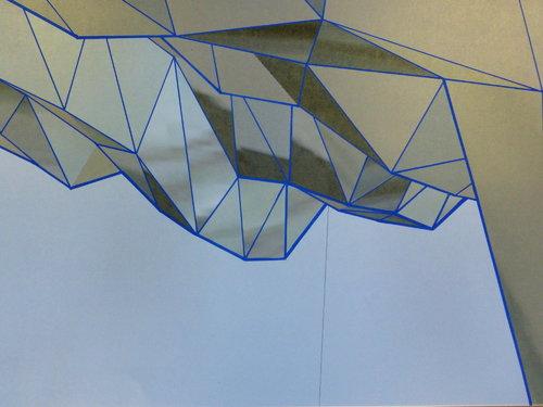 Glaciation Rémi Delaplace Impression Encre sur Papier