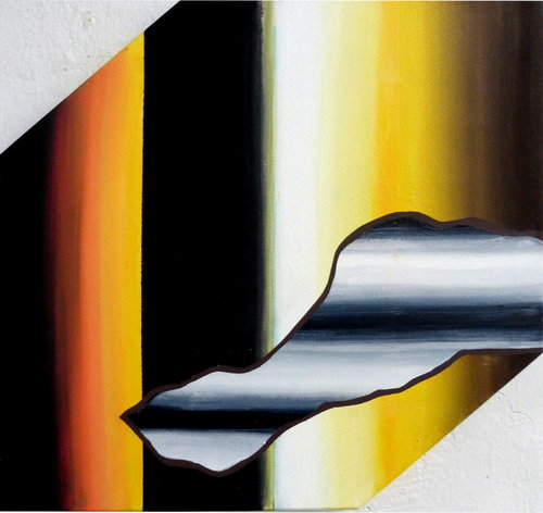 Les objets visuels sont des tout Rémi Delaplace Peinture Acrylique sur Toile