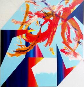 Gestalt Rémi Delaplace Peinture Acrylique sur Toile