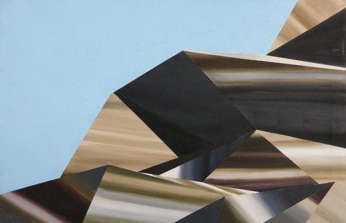 Image aveugle Rémi Delaplace Peinture Acrylique sur Toile