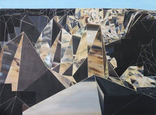Apprendre a voir, desapprendre à reconnaitre Rémi Delaplace Peinture Acrylique sur Toile
