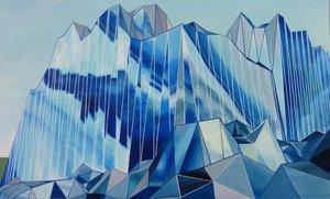 Glaciation Rémi Delaplace Peinture Acrylique sur Toile