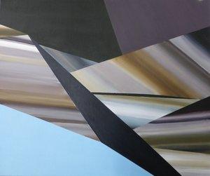 Profondeur plate Rémi Delaplace Peinture Acrylique sur Toile