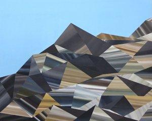 Fragments d'espaces Rémi Delaplace Peinture Acrylique sur Toile