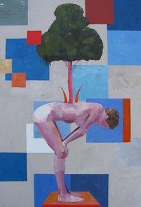 Food for trees I Simon Andrews Peinture Huile