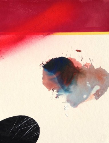 Collector Rue Asher Peinture Acrylique sur Carton ondulé