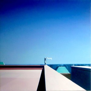 Le Signal Hugo Pondz Malerei Öl auf Leinwand