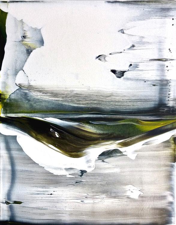 """""""wim""""  46 Johann Nußbächer Peinture Acrylique sur Toile"""