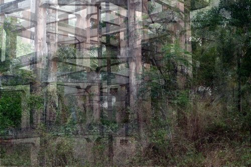 Water tower 4A John Brooks Photography Digital on Paper