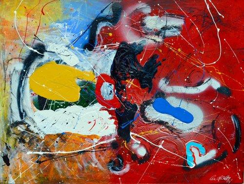 TEMPERATURE RISING Lia Galletti Painting Acrylic