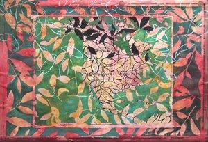 Effeuillage sur papier hollandais XLIX Jean-Jacques Pigeon Peinture Acrylique, Huile, Encre de Chine sur Papier