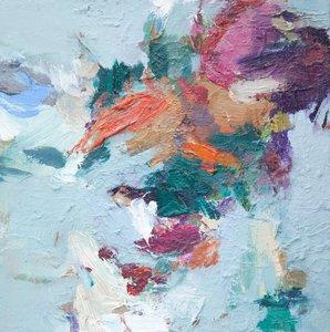 Ohne Titel Beate Köhne Malerei Öl auf Leinwand
