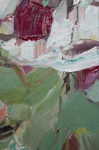 Kleine Blumen I Beate Köhne Malerei Öl auf Leinwand