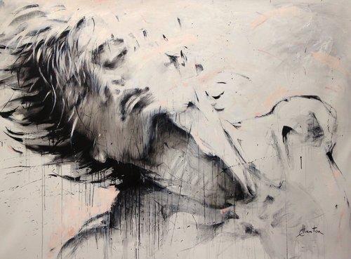 Dancer Ewa Hauton Painting Oil on Canvas