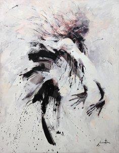Envol Ewa Hauton Peinture Huile sur Toile