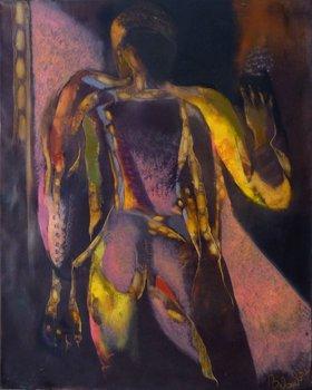 Opal Frédéric Belaubre Peinture Huile sur Toile