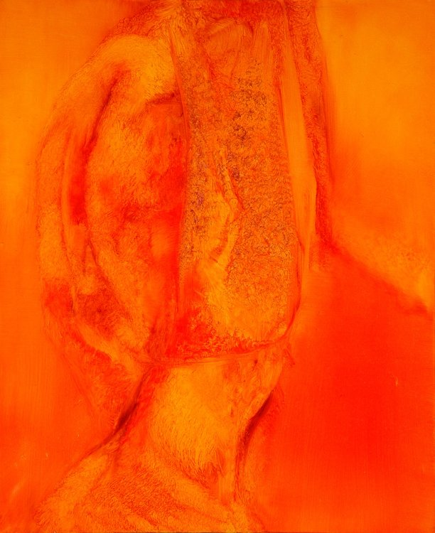Metafigure 42 Frédéric Belaubre Malerei Öl auf Leinwand