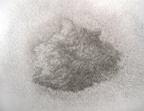 Carbon Cloud Paul Hazelton Painting