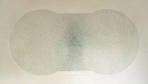 The Beginning of Shape Paul Hazelton Painting