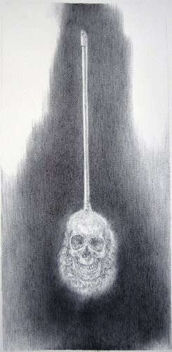 Sketch for Death Duster Paul Hazelton Painting