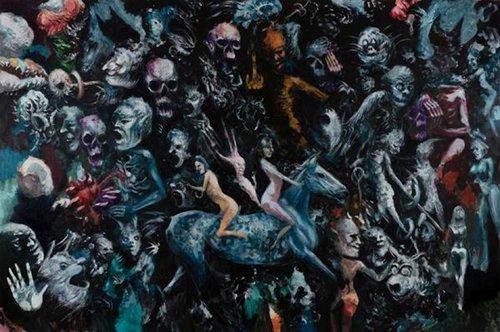 Sans titre 2015-2016 Thierry Agnone Peinture Acrylique