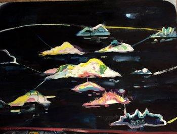Overflow Kay Bainbridge Peinture Huile sur Toile