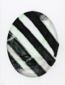 O-Number 5 Johannes Rave Malerei Acryl auf Leinwand