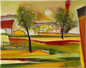 Frühlingslicht Christin Lutze Peinture Acrylique, Aquarelle, Gouache, Crayon sur Toile