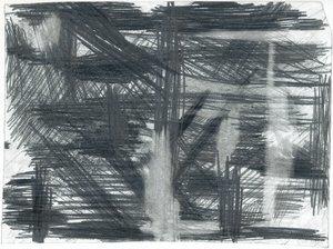 Construction #7 Keren Shalev Dessin Crayon sur Papier