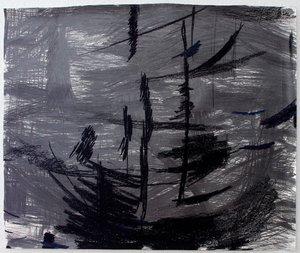 Tail wind Keren Shalev Zeichnungen Bleistift auf Papier